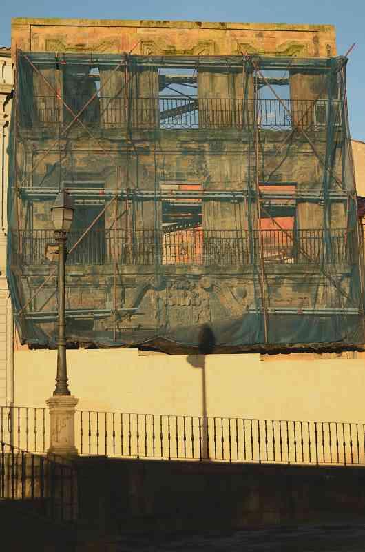 Humedades causadas por obras. Condena al Ayuntamiento de Luarca.