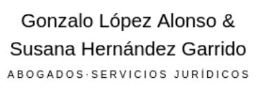 Gonzalo López Abogados